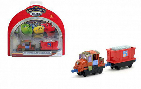 "Chuggington. Паровозик ""Ходж"" с прицепом"