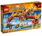 "LEGO LEGENDS OF CHIMA. Конструктор ""Огненный летающий Храм Фениксов"""